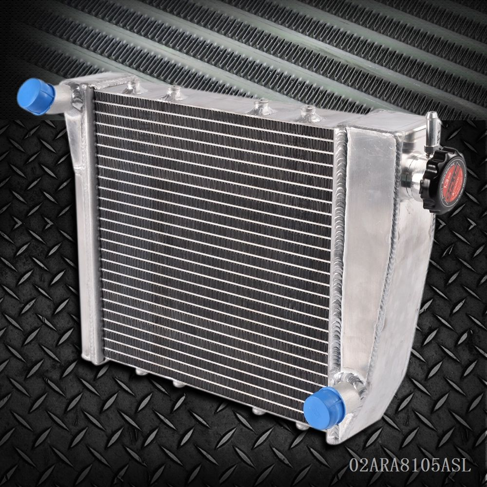Racing Aluminum Radiator FOR AUSTIN ROVER MINI COOPER 1967 1991 68 69 Silver
