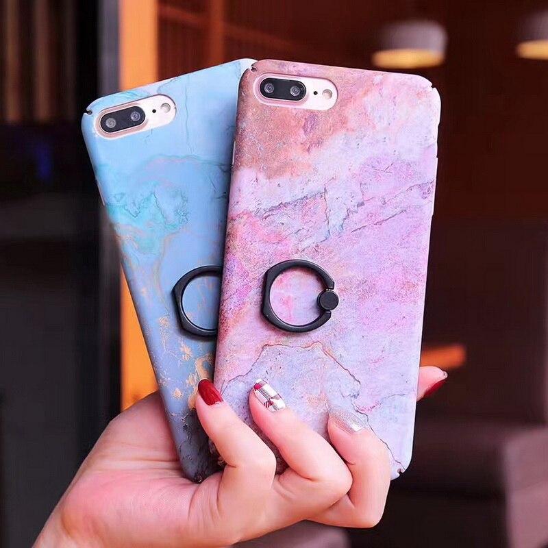 coque iphone 7 avec anneau marbre