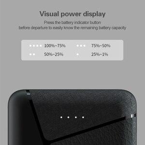 Image 4 - 10000mAh מיני בנק כוח 2.4A מהיר טעינת Powerbank 2 USB Poverbank חיצוני סוללה עבור iPhone Xiaomi Huawei סמסונג