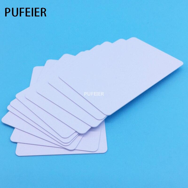 20PCS/Lot Inkjet Blank PVC ID Card No Chip For Canon IP5400 IP7200 IP7230 IP7240 IP7250 Printer Tray