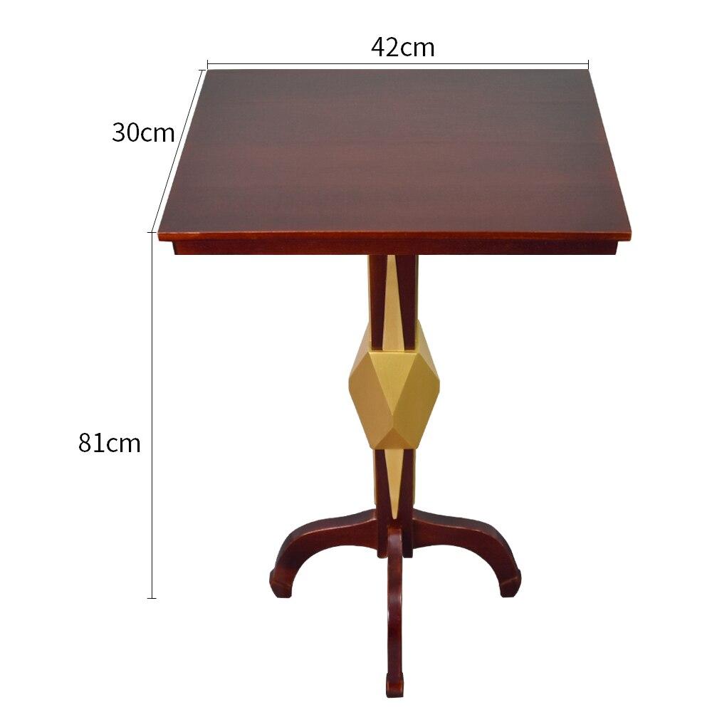 Table flottante carrée multifonction avec boîte Anti-gravité chandelier de Pot de fleur tours de magie étonnants accessoires d'illusion de magie de scène - 2