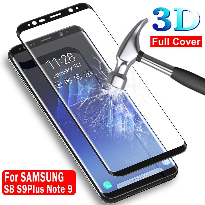 Original Glass For Samsung Galaxy S8 Plus S9 Plus Tempered Glass For Samsung S8 Note 9 8 Note9 Note8 S 8 S 9Plus Safety Pelicula