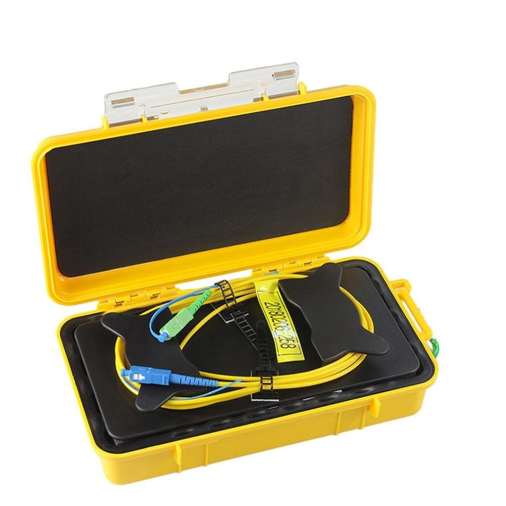 SC UPC SC APC Professional Single Mode 1KM OTDR Launch Cable Box Fiber Ring OTDR Launch