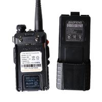 "vhf uhf Baofeng UV-5R 8W 3800mAh סוללה מכשיר הקשר 128 שני Band Dual Way רדיו UHF & VHF 136-174MHz & 400-520MHz Ham Radio מקמ""ש (4)"