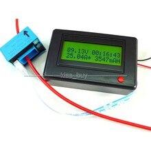 Sale DC 120V 500A Bluetooth receiver Digital ammeter voltmeter power Capacity meter Timer battery tester software 12v 24v car