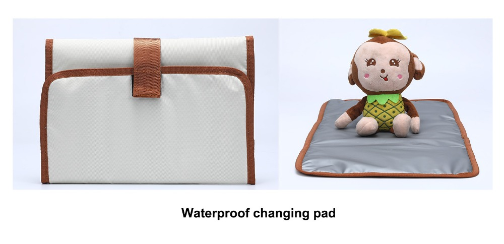Mommy Maternity Nappy Bag With 1pc Waterproof Changing Pad (18)