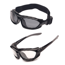 Motor Cycle Goggles Polarized Clear 2 Pairs Day Night, Helmet Glasses Interchangeable Temples Strap,
