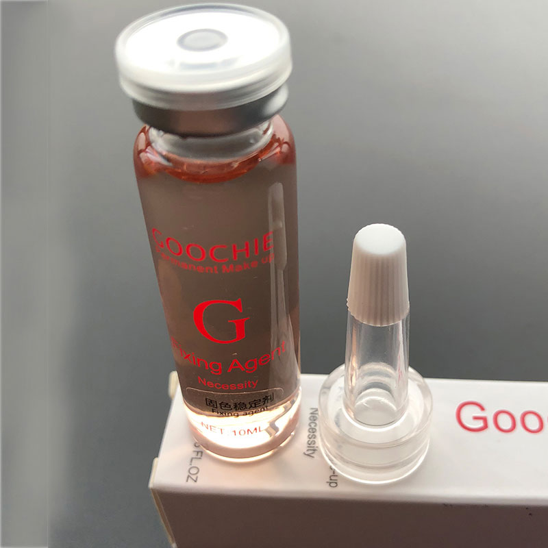 Image 2 - Goochie Permanent Makeup Microblading Eyebrow Pigment Flxing Agent PMU Ink Color Tattoo Midway Lock Essence 10ml-in Tattoo Inks from Beauty & Health