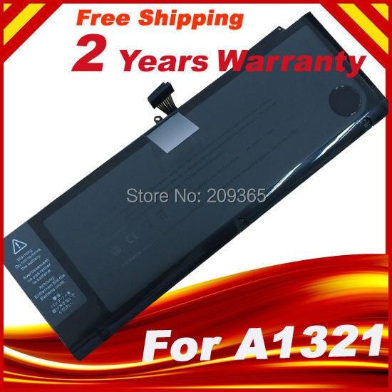 A1321 Batterie D'ordinateur Portable Pour Apple Macbook Pro 15 A1286 2009 2010 Version 020-6380-A