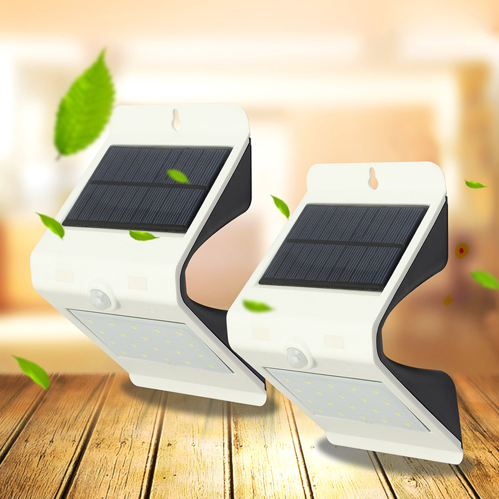 Wall Light LED Solar Power Motion Sensor Outdoor Waterproof Security Energy Saving Lamp For Home Street Garden A
