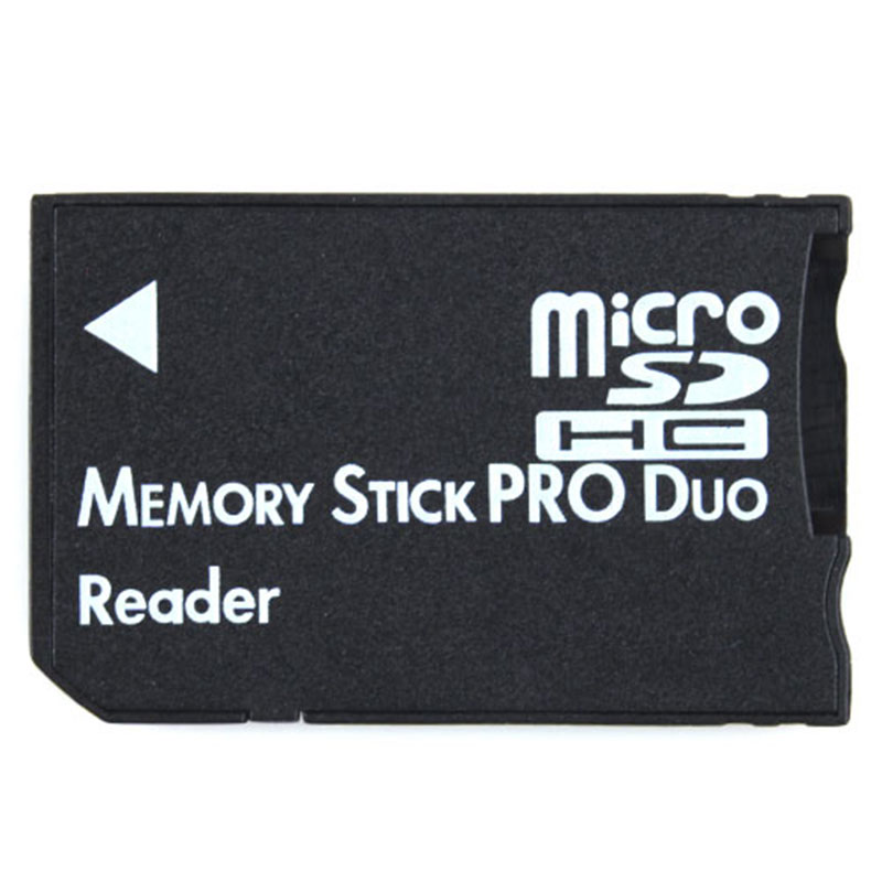 100pcs/lot Single Micro sd sdhc to MS Reader Memory Stick Pro duo card Adapter Converter Card