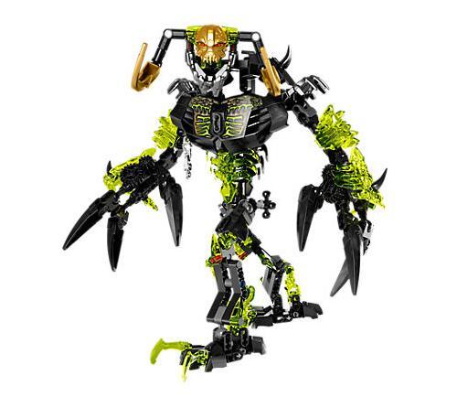 Bevle 2017 xsz 614 bioquímico guerreiro bionicle umarak o destruidor bloco de construção brinquedos compatíveis com bela bionicle 71316
