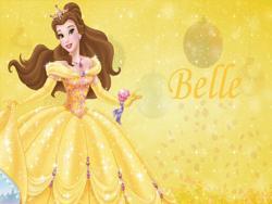Belle zasłona księżniczka żółty Bokeh teł wysokiej jakości wydruku komputerowego urodziny fotografii tła