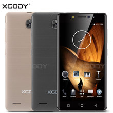 XGODY Mobile Phone Android 5.1 Quad Core 5.0 inches RAM 512MB ROM 8GB With 5MP Camera Dual Sim Cards X17 Unlocked Cell Phones