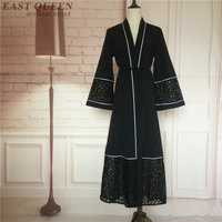 Dubai Kaftan Abaya Islamic Clothing Dress Muslim Hijab Abaya Designs Dubai Islamic Dress AA3149 Y