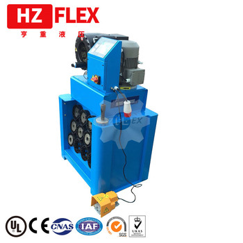 Made in China powerful P32 2.5 inch hydraulic hose press with dies holder and quick change tool and 13 sets of dies cnc rapid prototype and mockup made in china