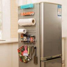 Kitchen Multipurpose Refrigerator Side Storage Rack Nevera Side Shelf rack Organizer Sidewall Fridge Multi-layer Holder