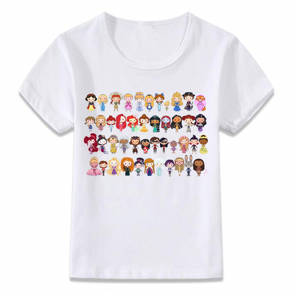 Kids Clothes T Shirt Little Princesses Awesome T-shirt For Boys And Girls Toddler Shirts Tee Oal168