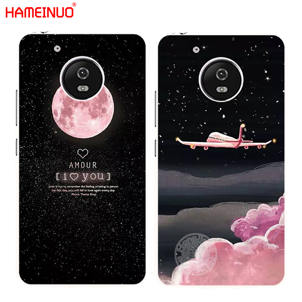 Style; In Cheap Price Hameinuo Space Moon Aircraft Air Plane Love Night Case Cover For For Motorola Moto G6 G5 G5s G4 Play Plus Zuk Z2 Pro Fashionable