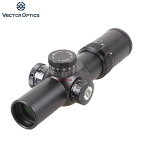 Vector Optics Apophis 1-6x28 Première Plan Focal Compact 35mm Long Dégagement Oculaire Fusil Portée/Lumineux Dot Réticule