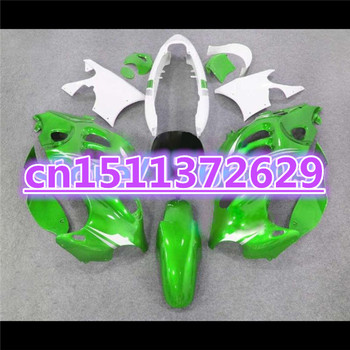 Painted -GSX750F Fairing for A GSX600F 750F Katana 1997-2005 GSX 600 F 2005 Fairing parts Green silver-Dor for SUZUKI D image