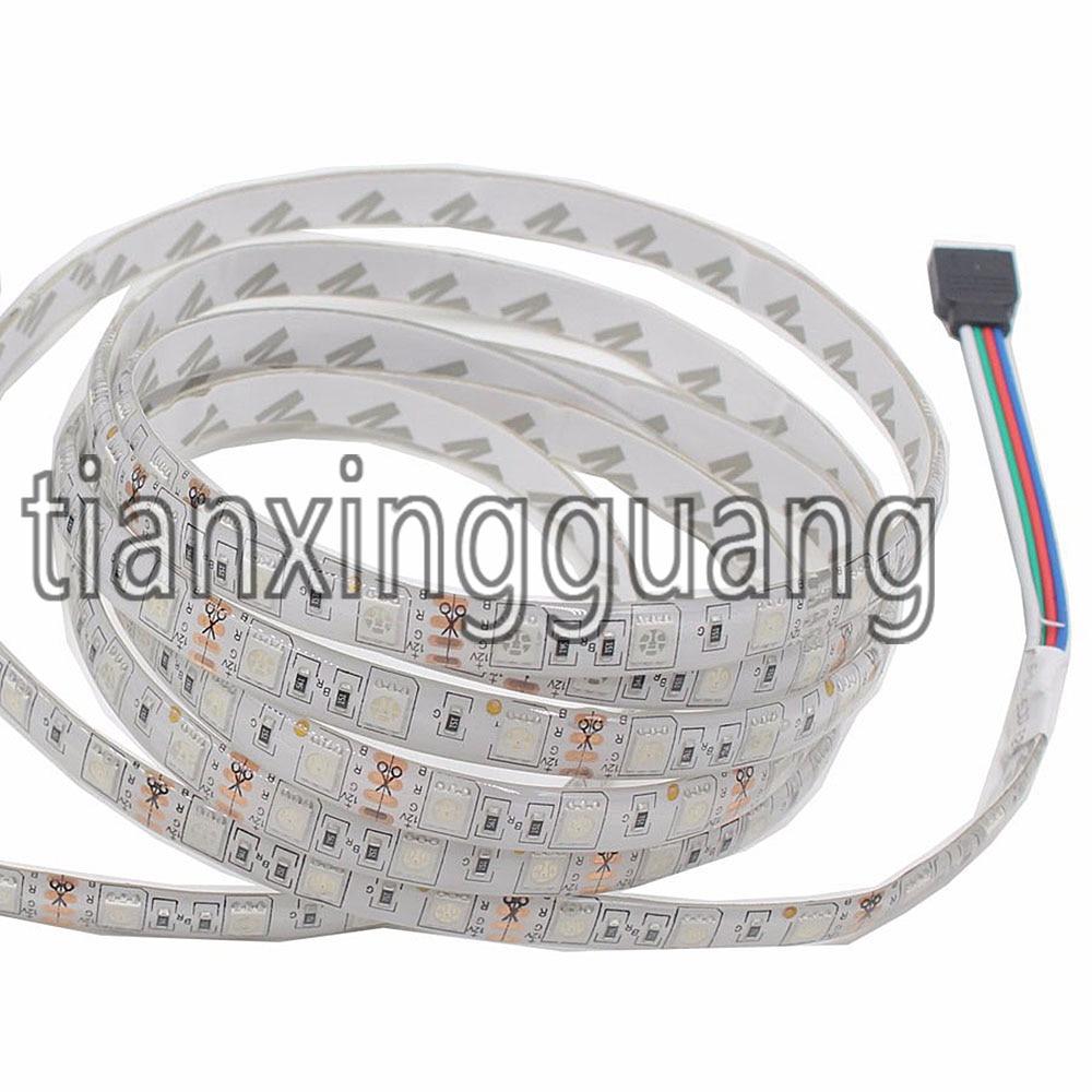 IP65 vodootporan SMD5050 60leds / m DC12V fleksibilan RGB vodio traka - LED Rasvjeta