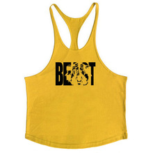 Cotton Golds Gyms Tank Tops Men Sleeveless Tanktops For Boys Bodybuilding Clothing Undershirt Fitness Stringer Vest