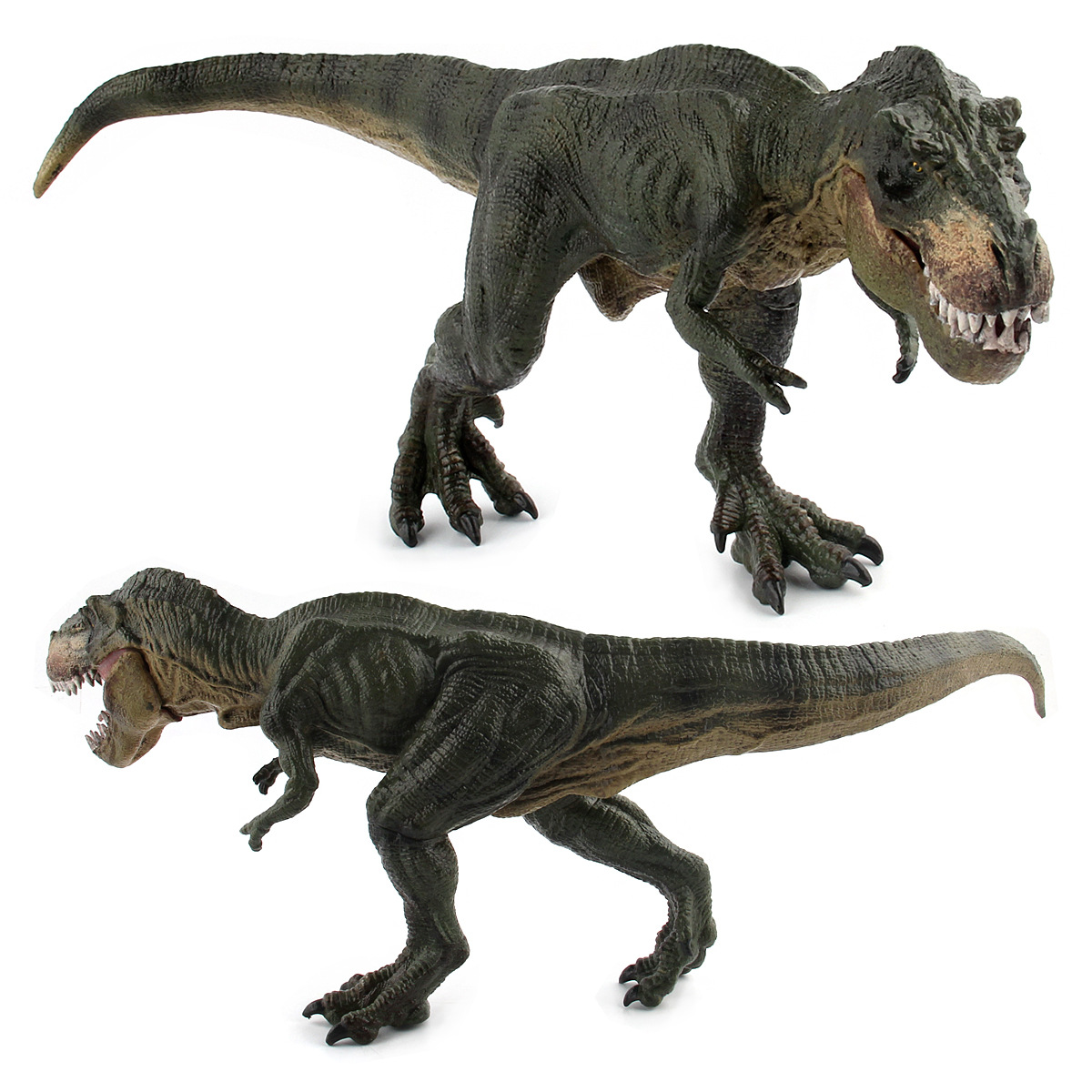 Action&Toy Figures Jurassic Tyannosaurus 32CM Dragon Dinosaur Toys Plastic Dolls Animal Collectible Model Furnishing Toy Gift F3 wiben jurassic pterosauria dinosaur toys action
