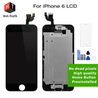 E Trust 10Pcs Lot Good Quality For IPhone 6 LCD Touch Screen Digitizer Assembly With Home