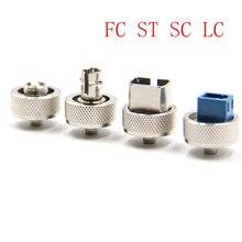 Najlepsza cena złącze OTDR FC ST SC LC Adapter OTDR złącze światłowodowe do optycznego reflektometru czasowego Adapter światłowodowy