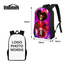 Dropshipping Custom Logo Pattern Design Bags Customized Designer Backpack  MOQ One Personalized Luggage Cover Trendy Printing 7085e6298881e