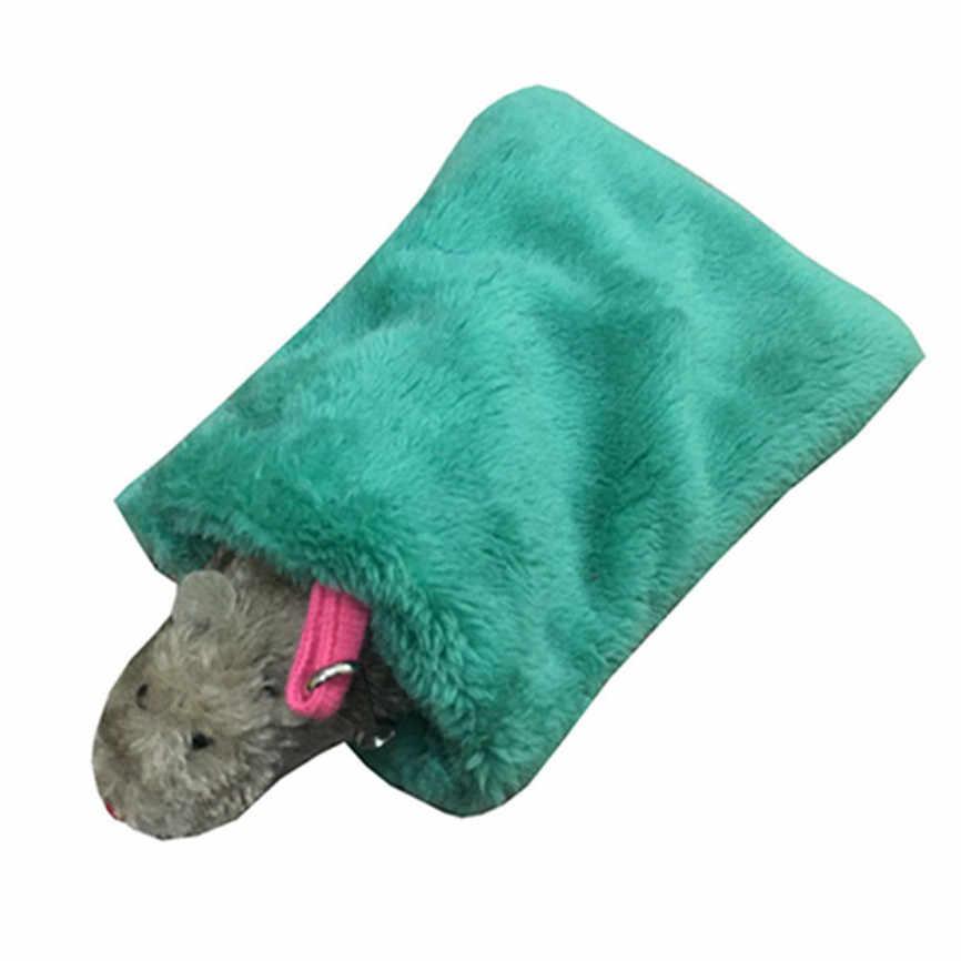 Pet Saco de Dormir de Inverno Pendurado Hamster Copo Abraço Snuggle Cama Aconchegante Pouch Saco de Dormir Saco de Dormir