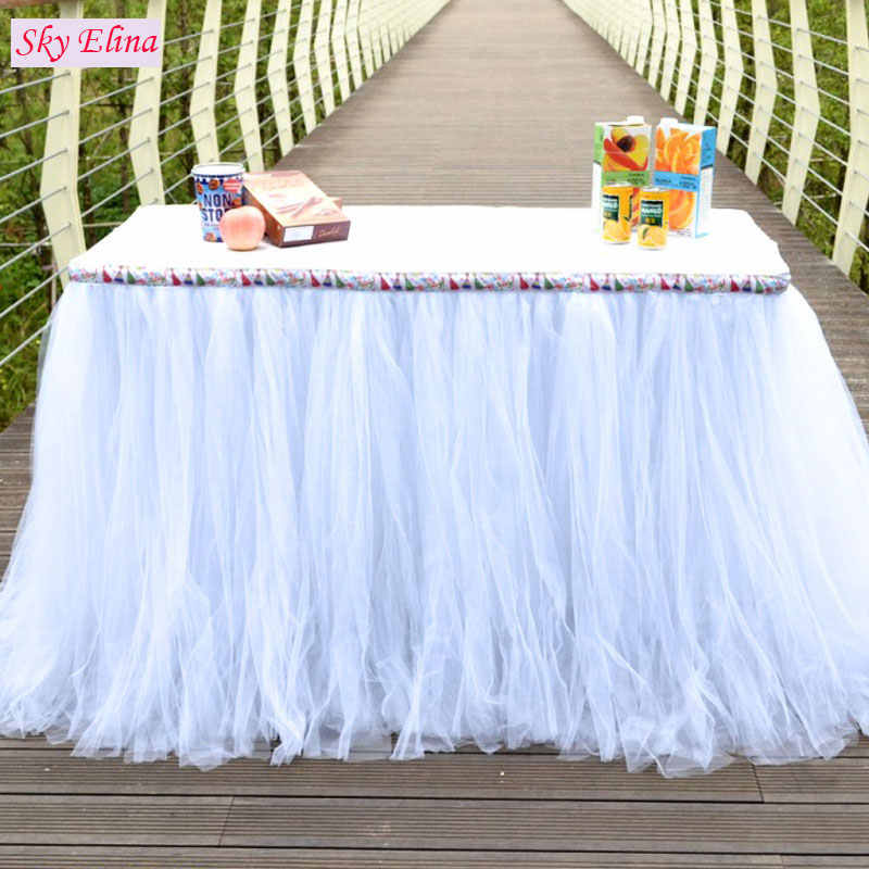 ... 48CMx5M Tulle Roll Crystal Fabric Organza Tulle Roll Spool Wedding  Decoration Birthday Party Kids Baby Shower 9c93520d82d7