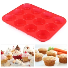 12 lattices Silicone Cake Mold Fondant Cupcake Decorating Cake Tools Forms For Cookies Bakeware Kitchen Accessories 29.5x22cm