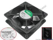 Free Shipping For Nidec B34761-26 DC 48V 0.12A, 120x120mm 2-wire Server Square fan