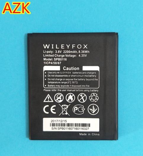 AZK New 2200mAh SPB0116 Battery for Wileyfox Spark / Spark+ SPB0116 phone battery vibes high fidelity ear plugs