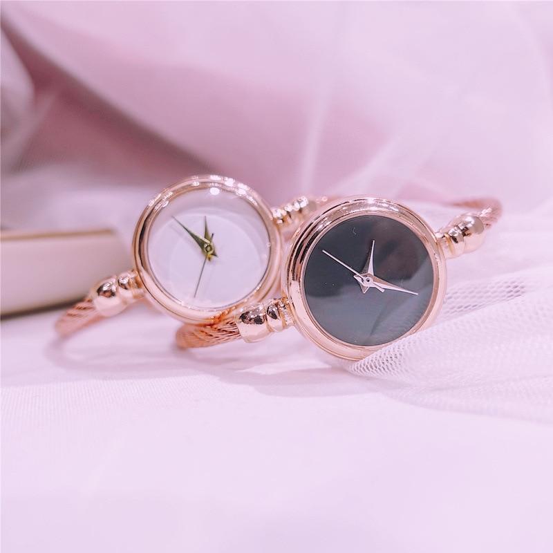 No Scale Minimalist Women Creative Watches Luxury Fashion Art Wild Female Bracelet Watch Ladies Quartz Wristwatches Gifts