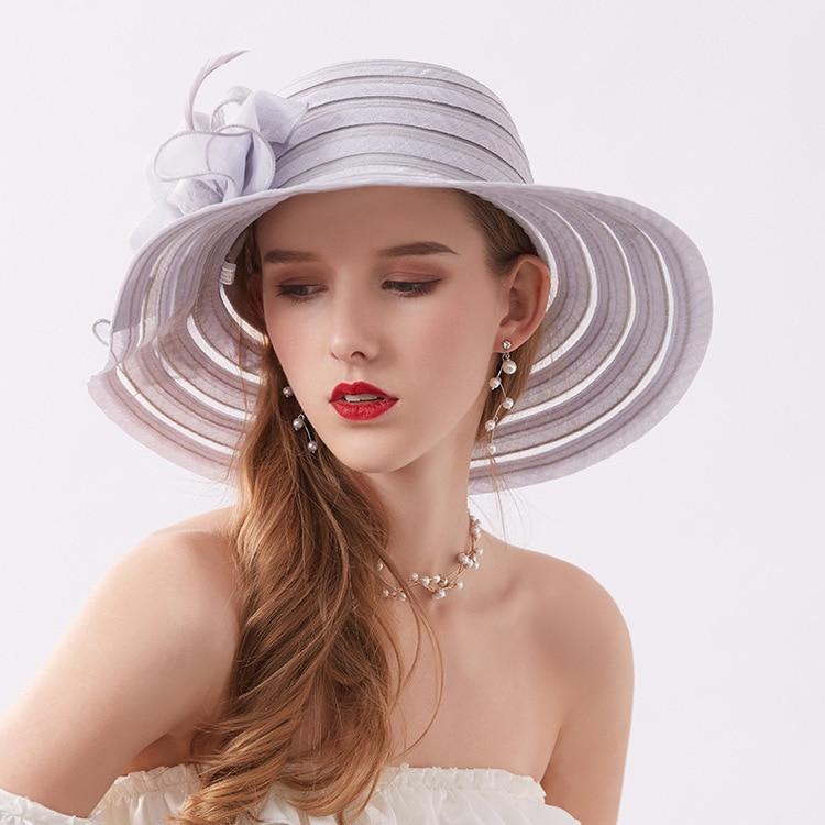 Big Eaves Formal Hat Women
