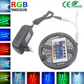 5m rgb LED Strip Flexible Light LED Tape smd 3528 RGB dc12V Single Color White/Red/Blue/Green/Yellow Rope Light Home Decoration