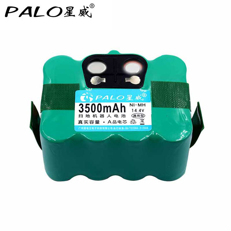 PALO Vente Chaude 14.4 v Ni-MH 3500 mah Aspirateur Balayage Robot Rechargeable Batterie Pack Pour KV8/XR210 FM-019 INDREAM9200 etc.
