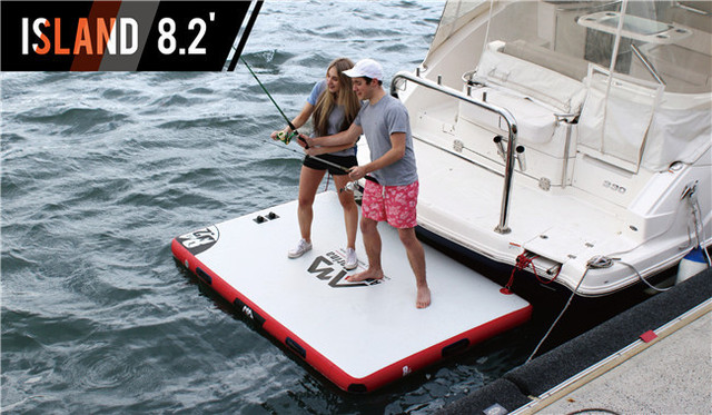 Buy inflatable deck air deck dwf for Floating platform deck