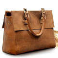 2016 European Ladies Vintage high-class leather Crossbody portable hand bag/women retro genuine bags/leisure tote large capacity