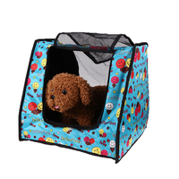 Breathable Pet Carrier Dog Cat Travel Bag Mesh Collapsible Kennel House For Small Dog Cats Animal