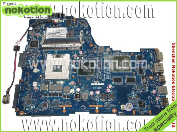 K000125700 LA-6831P laptop motherboard for Toshiba A665 Intel HM65 with VGA DDR3 Mainboard free shipping free shipping laptop motherboard without vga chipsets for c50 h000052660
