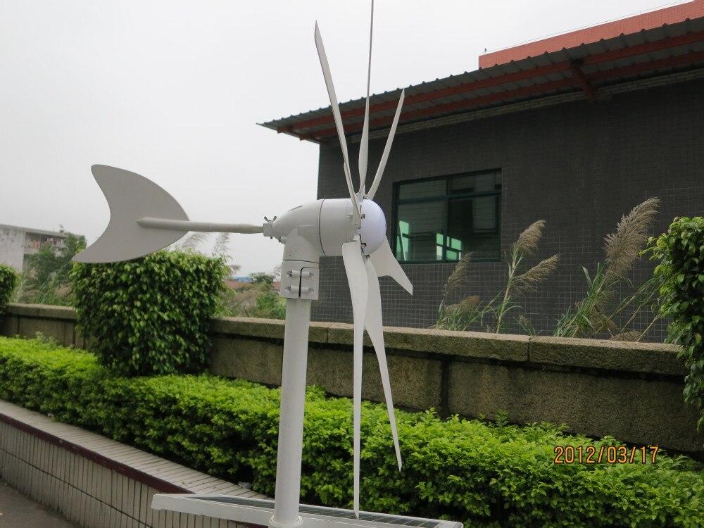 Générateur de vent 300 w DC 12 V/24 V 6 pales éolienne générateur moulin à vent pleine puissance, haute qualité, CE, ROHS, ISO9001 - 2