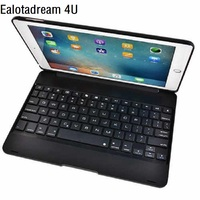 New ABS Bluetooth Case For IPad Pro 9 7 2017 Case Keyboard Flip Protective Cover For