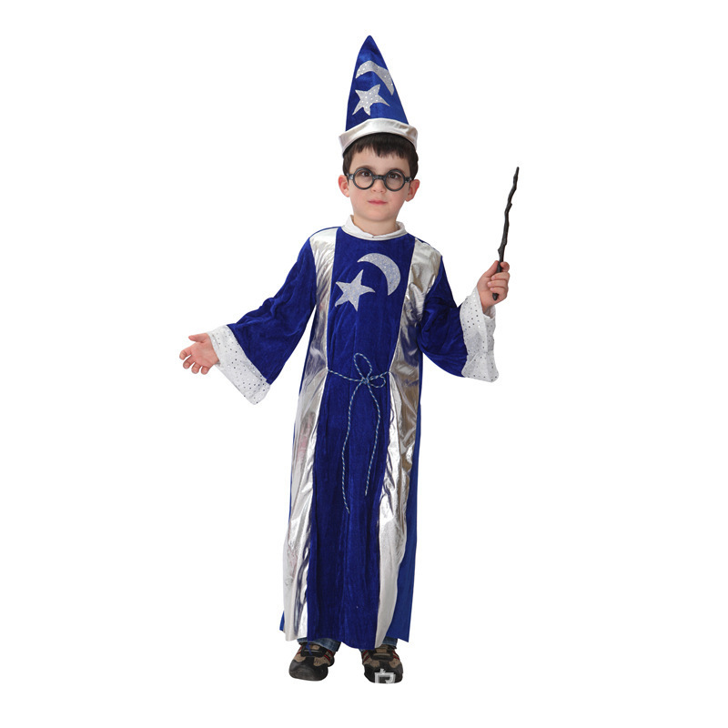 2015 hot cosplay children show performance wizard harry potter wizard costume clothes dance party in mens costumes from novelty special use on