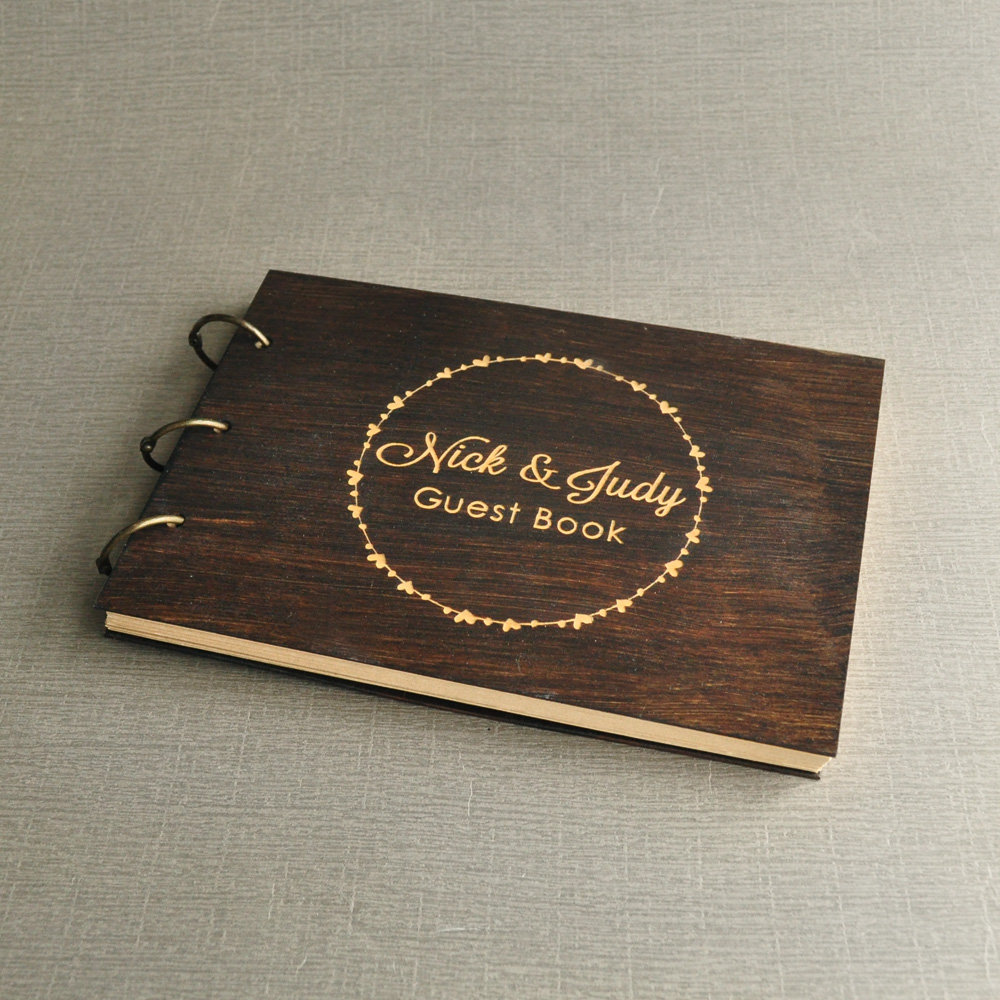 Personalized Wedding Guestbook,Rustic Unique Wedding Guest book,Wood Wedding Guest book,Custom Engraved Guest Book,Wedding Sign