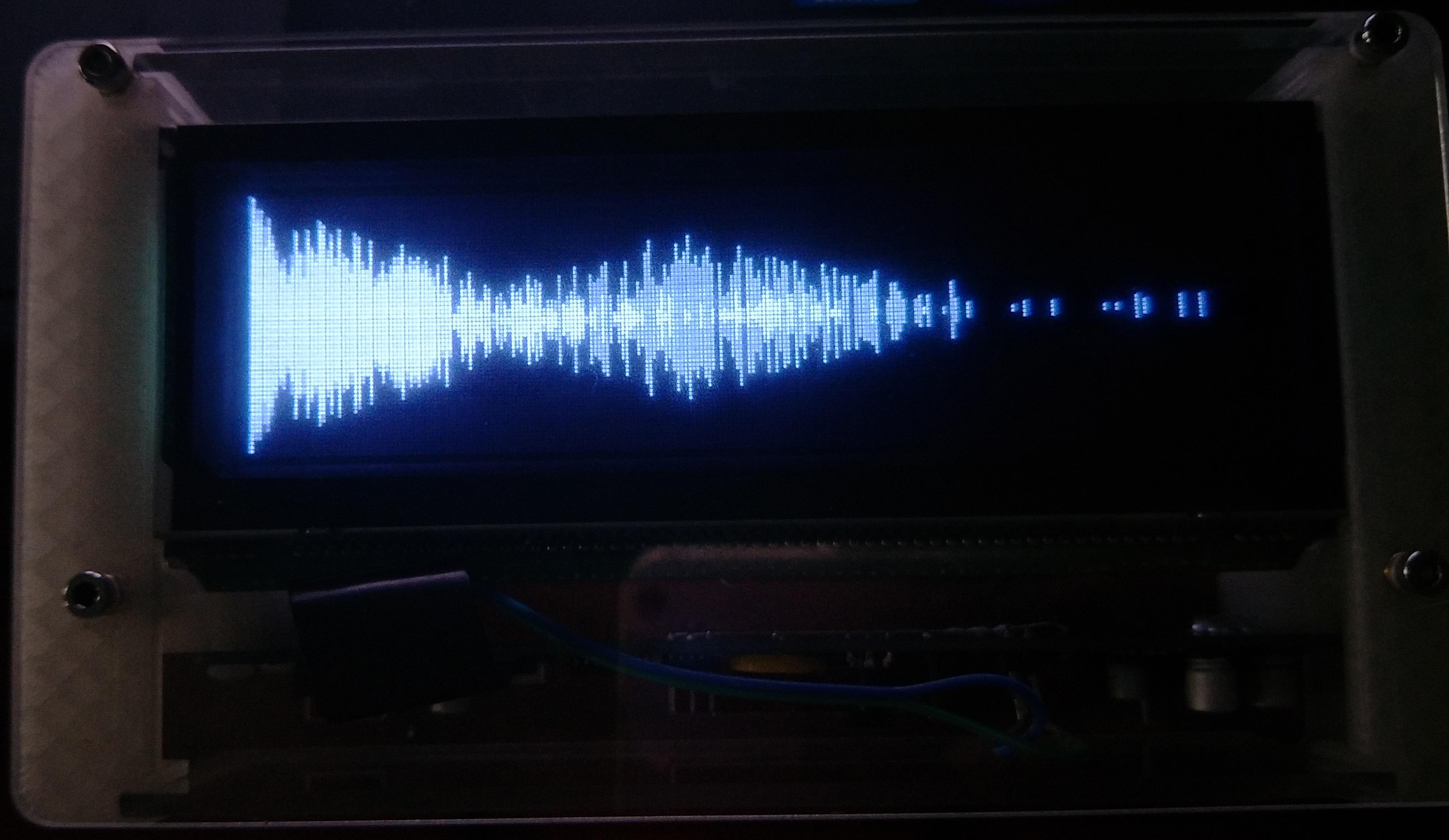 VFD25363 VFD часы люкс, музыка отображения спектра, vfd вакуумный флуоресцентный дисплей