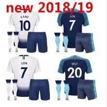2af1888ce 2019 adult kit Tottenhames football shirt KANE Home away 18 19 spurs adult kit  LAMELA ERIKSEN DELE SON t-shirt soccer jersey